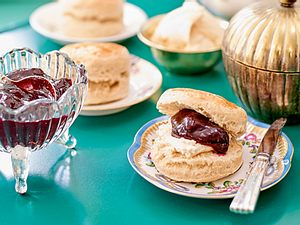 Scones mit Clotted Cream Rezept