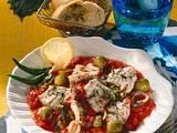 Seelachs in Tomatensoße Rezept