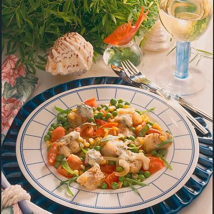 Seelachs mit Gorgonzola Rezept