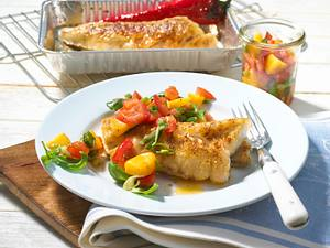 Seelachsfilet mit Chili-Curry-Paste Rezept