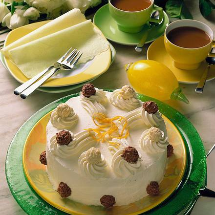 Sekt-Creme-Torte mit Trüffel Rezept