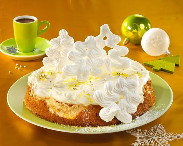 Sektcreme-Torte Rezept