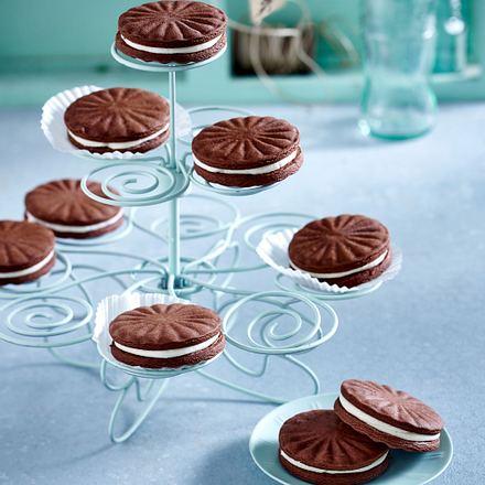 Selbstgemachte Oreo-Cookies Rezept