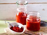 Selbstgemachte Sriracha-Soße Rezept