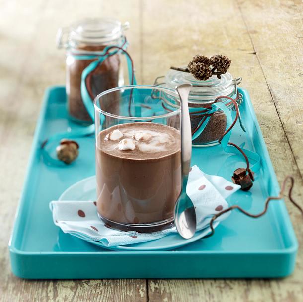 Selbstgemachter Schokoladen-Drink Rezept