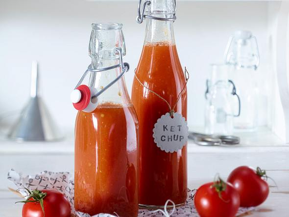 Selbstgemachtes Tomatenketchup Rezept