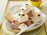 Selbstgemachtes Vanille- und Schoko-Quark-Eis Rezept