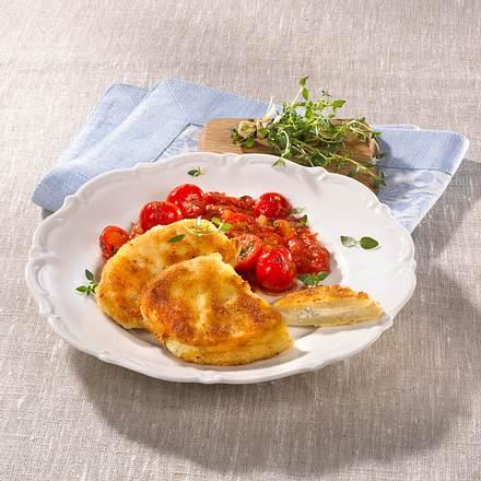 Sellerie-Medaillons mit Tomatenragout Rezept