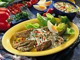 Selleriestangen mit Sesampanade Rezept