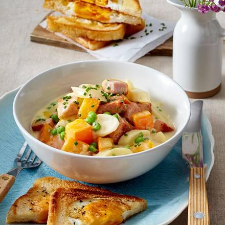 September-Schnüsch mit Eier-Toast Rezept