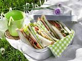 Serrano-Sandwiches Rezept