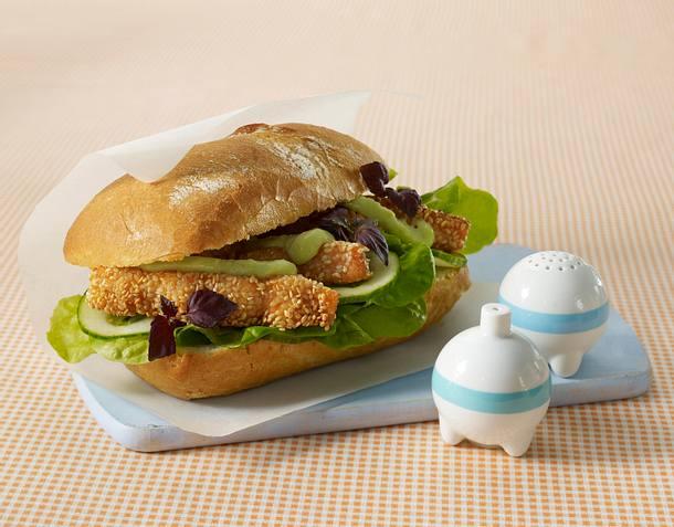 Sesam-Fischburger Rezept