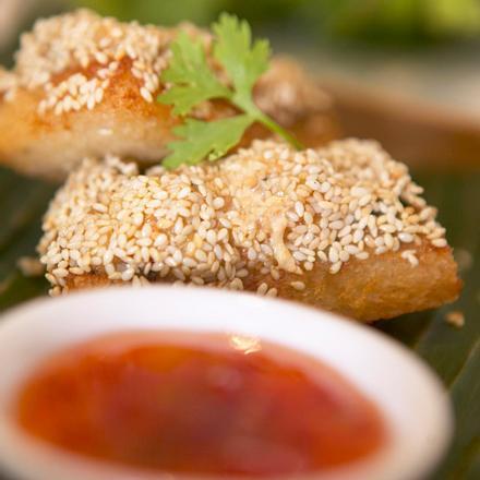 Sesam-Garnelen-Toast Rezept