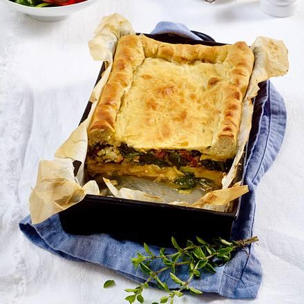 Sformato di pane alla verdure (Gemüsepastete) Rezept