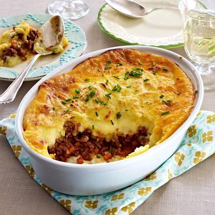 Sheperd's Pie mit Bolognese Rezept
