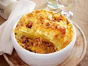 Shepherd's Pie mit Sauerkraut Rezept