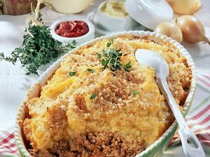 Shepherd's-Pie mit Steckrüben-Kartoffel-Püree Rezept