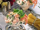 Shrimps-Cocktail mit Spargel Rezept