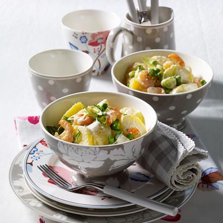 Shrimps-Kartoffel-Salat Rezept