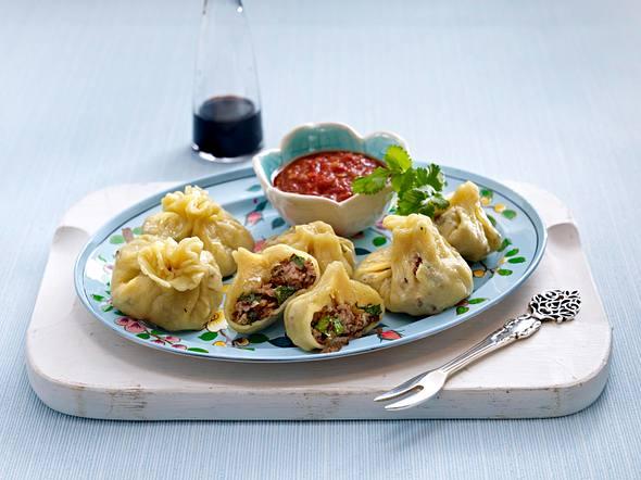 Sibirische Fleischtaschen Rezept