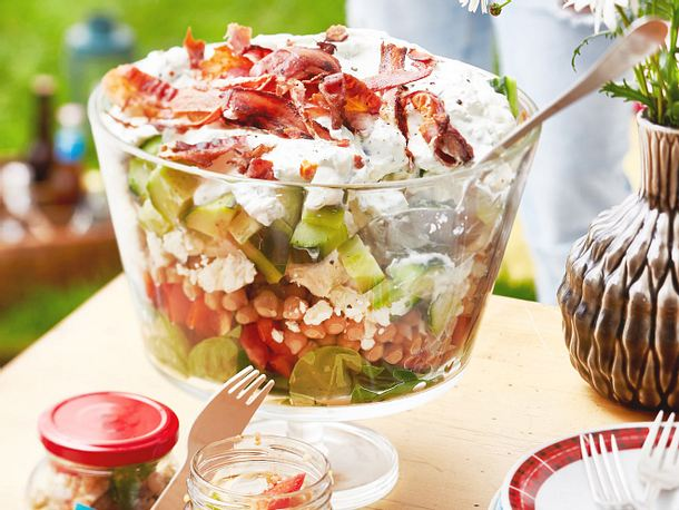 Sieben-Sachen-Salat Rezept
