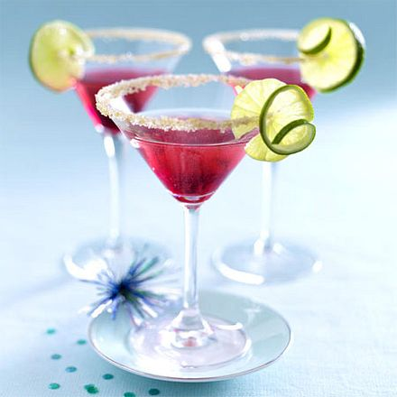 Cocktails - bunte Partydrinks mit Schuss - silvester-cocktail