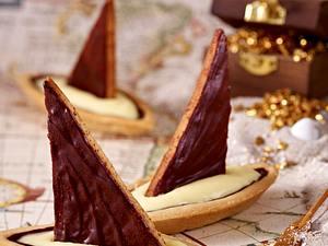 Sindbad der Seefahrer – Orangen-Kardamom-Schiffchen Rezept