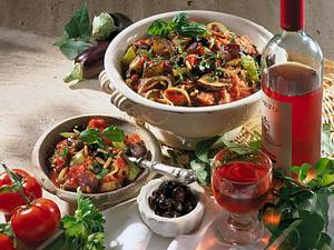 Sizilianischer Gemüsetopf Caponata Rezept