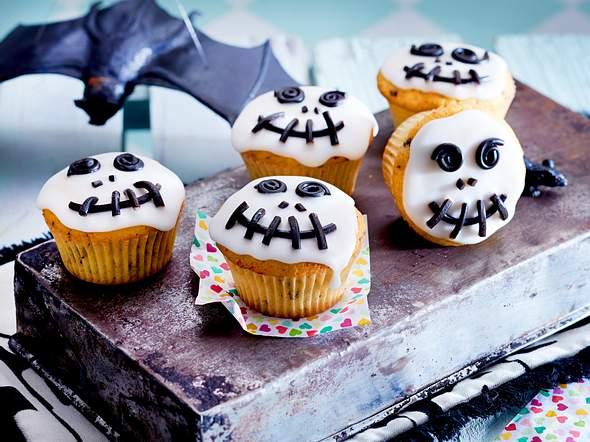 Skelett-Muffins Rezept