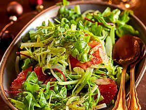 Salatmix mit Grapefruit Rezept