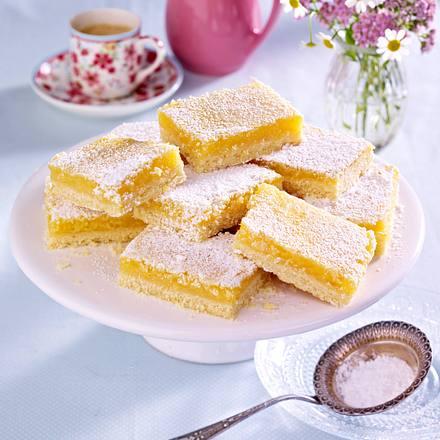 Sommerliche Zitronenschnitten Rezept