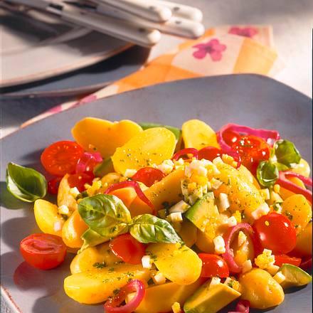 Sommerlicher Kartoffelsalat Rezept