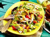 Sommersalat mit Mango-Jalapeño-Dressing Rezept