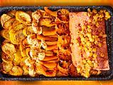 Sonniger Gruß aus der Küche von Kürbis, Orange, Lachs & Co. Rezept