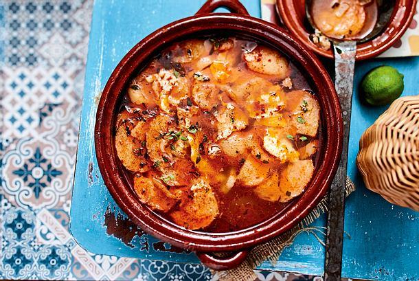 Sopa de ajo (traditionelle Knoblauch-Brot-Suppe) Rezept