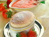 Soufflé mit Erdbeersoße Rezept
