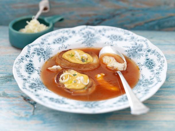 Soup de poisson (Fischsuppe) Rezept