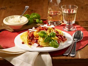 Spaghetti all amatriciana Rezept