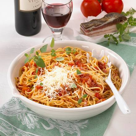 Spaghetti alla spoletane Rezept