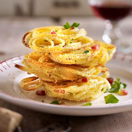Spaghetti-Chips vom Blech Rezept