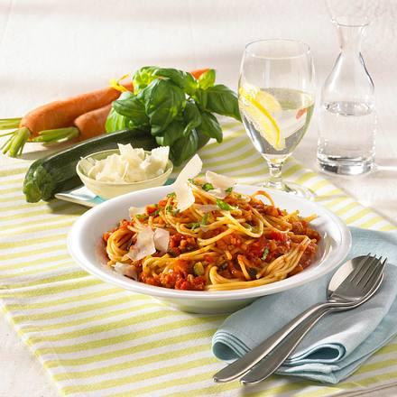 Spaghetti con verdura Rezept