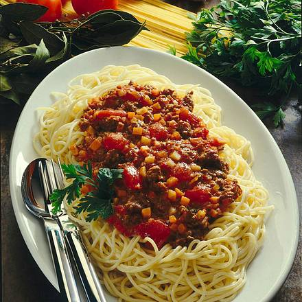 Spaghetti mit Fleischsoße Rezept