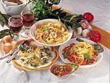 Spaghetti mit Hack-Käse-Soße Rezept