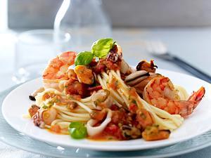 Spaghetti mit Meeresfrüchten (Frutti di Mare) Rezept