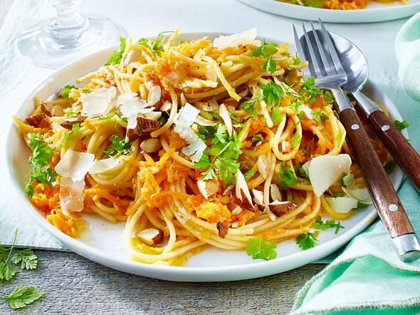 Spaghetti mit Möhrenbutter Rezept