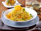 Spaghetti mit Möhrenpesto Rezept