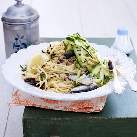 Spaghetti mit Sardinen Rezept
