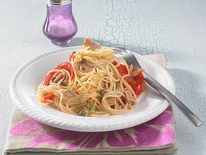 Spaghetti mit Thunfisch (Diät) Rezept