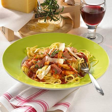 Spaghetti nach Asconeser Art Rezept