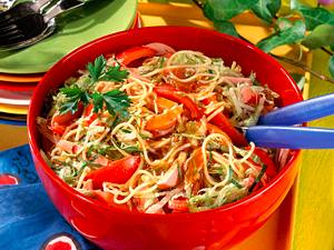 Spaghetti-Salat Rezept